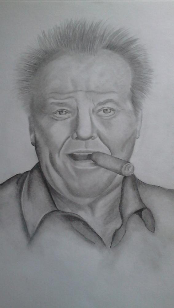 Jack Nicholson by Janina84